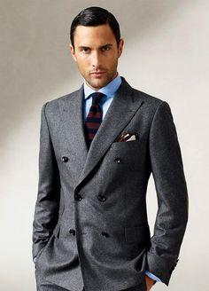 ダブルスーツの着こなし・コーデ 1/6   メンズファッションスナップ フリーク - 男の着こなし術は見て学べ。