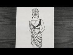 How To Draw A Beautiful Indian Girl With Saree || Girl Drawing Easy || Step By Step || Pencil Art - YouTube Beautiful Girl Drawing, Girl Drawing Easy, Indian Girls, Pencil Art, Hello Everyone, Easy Drawings, Saree, Youtube, Sari