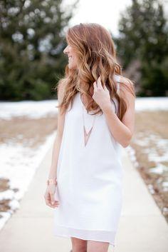 Simple White + Rose