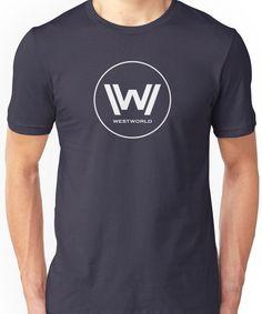 37aa055eaeae16  Westworld Logo - Stil 2  T-Shirt by Bmused55