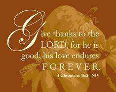 pinterest christian thanksgiving   Scripture Art Print Word Art Thanksgiving Give Thanks ...   Give Than ...