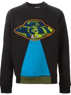 Shop Kenzo UFO embroidered sweatshirt in Tiziana Fausti from the world's best independent boutiques at farfetch.com. Shop 300 boutiques at one address.