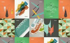 Color palette / color family / transparency / photo + illustration mix
