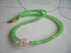 Glasketten - Kristall - Collier Kylie - ein Designerstück von sibea bei DaWanda