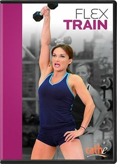 Cathe Friedrich's Flex Train - Flex Train is a non-stop, total body strength and toning workout that mixes metabolic training with high-rep strength training. Minimal equipment is used to unleash your strength, endurance, and sculpted muscles. This will quickly become one of your favorite go-to workouts when you are looking to rev up your metabolism and build muscular strength and endurance in a creative, low-impact, high-energy way.