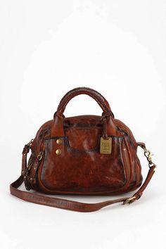 Frye Elaine Vintage Leather Satchel Bag