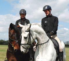 Mark Todd & Caroline Powell at Team NZ training. Olympics, Riding Helmets, Training, Horses, Beautiful, Horse, Work Out, Education, Exercise