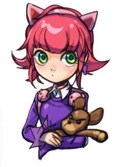 Annie doodle by kukon.deviantart.com on @deviantART