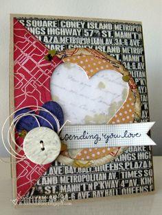 kinsale creations: Pretty Pink Posh Sequin Shaker Blog Hop - Card #2
