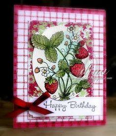 Mama Dini's Stamperia: Birthday Berries