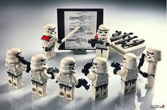 Storm trooper weapons training