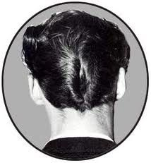 There a couple of basic hairstyles for Rockabilly men. One of the most iconic would have to have been the ducktail haircut. It's a symbol . 1950s Mens Hairstyles, Cool Hairstyles, Vintage Hairstyles, Sweet Memories, Childhood Memories, Ducktail Haircut, Locks, Pin Up, Rockabilly Hair