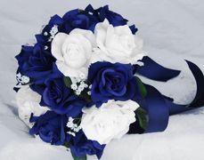 Bouquet #5 (if blue/silver colors)