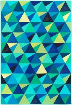 Check out these beautiful examples of Modern Quilt patterns!