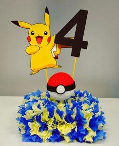 Ideas Decoracion Y Manualidades Para Fiestas Fiesta Tematica De Pokemon Party Decorations