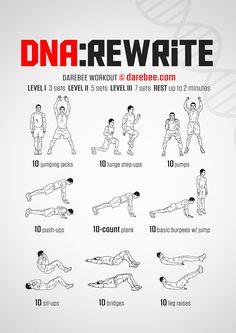 DNA Rewrite Workout Spartan Workout, Spartan Race, Workout Plans, Hero Workouts, Gym Workouts, Toned Women, Fit Women, Quick Morning Workout, Morning Workouts