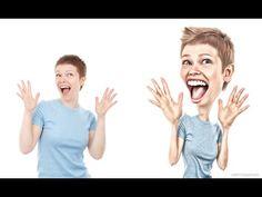 (1) Cartoon Character Effect Photoshop Tutorial - YouTube