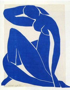 Blue Nude, 1952, expressionism, fauvism, French