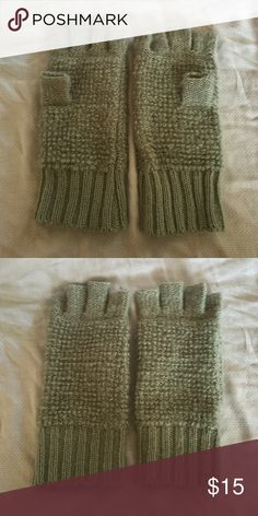 Urban Outfitters finger-less mittens Urban Outfitters light blue finger-less mittens. One size. Like new, never been worn! Urban Outfitters Accessories Gloves & Mittens