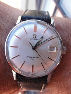 Vintage OMEGA Seamaster 600 Dress Watch In Stainless Steel