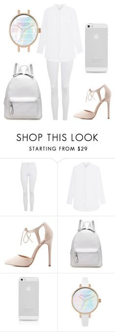 """Theme: White"" by allthegamesandvids ❤ liked on Polyvore featuring Topshop and Charlotte Russe"