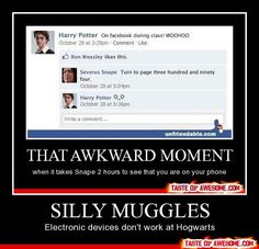 Silly muggles