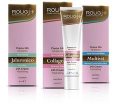3 nuove creme cosmetiche viso idratanti 24h freschezza attiva. Jaluronico, Collagene e Multivit, specifiche per pelli secche, delicate e normali/miste!