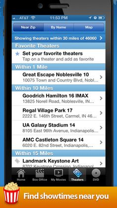 Movies by Flixster, with Rotten Tomatoes for iPhone, iPod touch, and iPad on the iTunes App Store