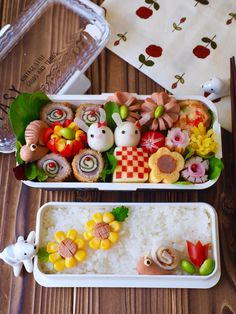 Adorable Bento Box Ideas For Kids - About Mom's World Bento Box Lunch For Kids, Bento Kids, Cute Lunch Boxes, Bento Recipes, Baby Food Recipes, Japanese Food Art, Food Art For Kids, Eat This, Food Decoration