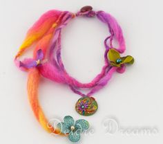 Hippie Boho Gypsy Chic Statement Tropical Flowers by DeidreDreams, $55.00