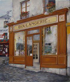 Marie-Claire Houmeau  Boulangerie Montmartre