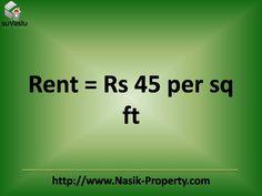 Rental price per sq ft. . .