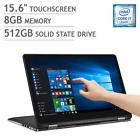 *New*Dell Inspiron 2-in-1 Core i7 3.1GHz /8GB /512GB SSD /4K Ultra HD Touch 7568
