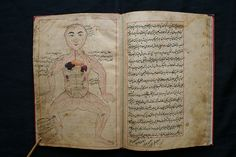 Tashrih Mansuri: Medical ms by Manṣūr ibn Muḥammad ibn Aḥmad ibn Yūsuf Ibn Ilyās ( منصور ابن محمد ابن احمد ابن يوسف ابن الياس) who was a late 14th century physician from Shiraz, Timurid Persia. Mansur was from a family of scholars and physicians active for several generations in the city of Shiraz. He dedicated both of his major medical writings, a general medical encyclopaedia and a study of anatomy, to rulers of the Persian province of Fars.