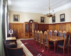 City Hall, Strengberg's room. Pietarsaari, Ostrobothnia province of Western Finland.- Pohjanmaa - Österbotten