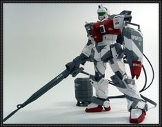 RGM-79G GM Sniper Free Gundam Paper Model Download