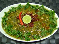 Bethica's Kitchen Flavours: Sai Bhaji (Spinach-Chana Dal-Veggies Curry - Si...