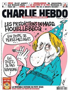Charlie Hebdo - N° 1177 - Mercredi 7 Janvier 2015 - Couverture de Luz