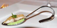 Gerookte makreel met doperwtenmousse - Hobbykok Pluis Tapas, Creme Fraiche, Appetisers, Foods To Eat, Entrees, Buffet, Bbq, Snacks, Dinner
