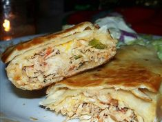 Great Mexican shredded chicken recipe. Or just follow the first step (till shredding) and add bbq sauce for a delicious sandwich filling.