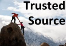 Customers are always looking for trusted sources!!!
