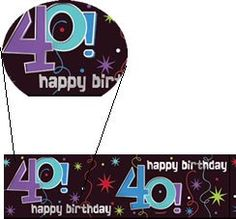 The Party Continues 40th Birthday 12ft Banner * Read more reviews of the product by visiting the link on the image-affiliate link.