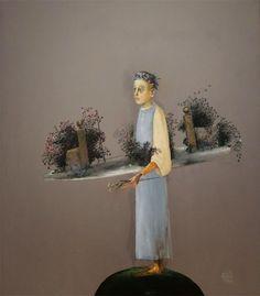 ŞTEFAN CÂLŢIA, Locuri Blue Bird, Painters, Contemporary, Art, Kunst, Art Education, Artworks