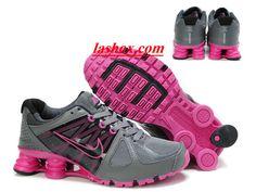 buy online 5b1bb 6d070 chaussures nike shox agent femme gris rose www.lashox.com