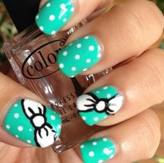 .love the polka dots