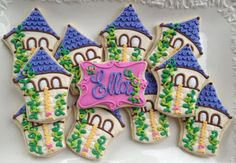 Hey, I found this really awesome Etsy listing at https://www.etsy.com/listing/82584085/fairy-tale-tower-sugar-cookies