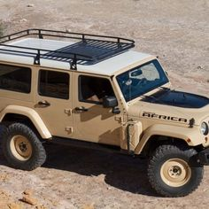 Jeep Wrangler Africa Moab Easter concept - No Limits Jeep