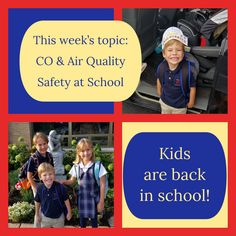 I apologize for my inactivity. My kids are all back in school, including the youngest who is now is full day Kindergarten! Stay tuned for more posts on CO safety at school - including parking lots, school buses, CO awareness, and air quality education.