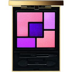 Yves Saint Laurent Couture Eye Shadow Palette ($64) ❤ liked on Polyvore featuring beauty products, makeup, eye makeup, eyeshadow, beauty, cosmetics, eye shadow, palette eyeshadow and yves saint laurent