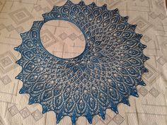 Ravelry: Gaudeamus Lace Shawl pattern by Anna Victoria